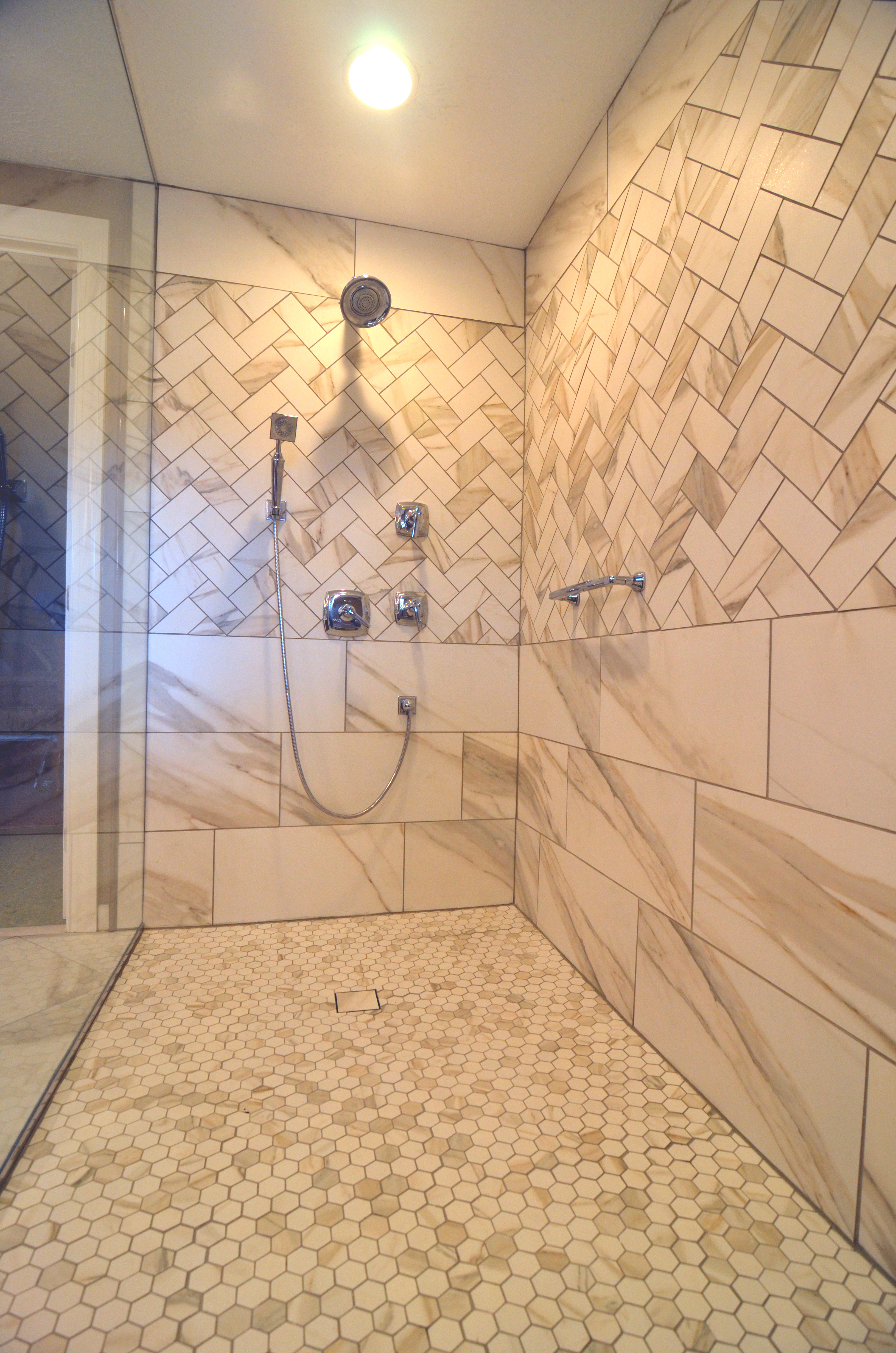 Marlton Master Bath With Barrier Free Shower By Next Level Remodeling - Bathroom remodeling south jersey