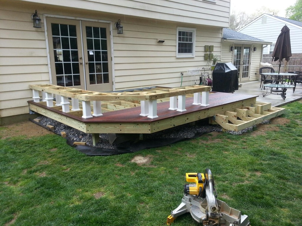 Ipe deck under construction1