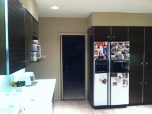 Before the kitchen renovation began