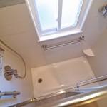 birds eye view of shower renovation