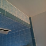 remove soffit for new bath