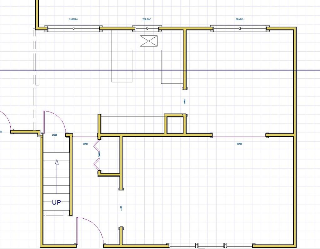existing kitchen layout